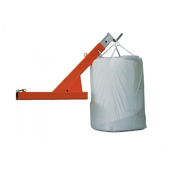 Potence pour Big Bag Poids (Kg) 88 Référence MK15BB Charge admissible (Kg) 1065 à 1500 Déport flèche (mm) 1320 à 1850 Dim. intér. fourreaux PxH (mm) 185*70