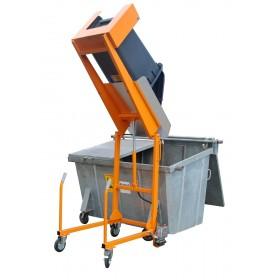 Basculeur mobile de poubelles