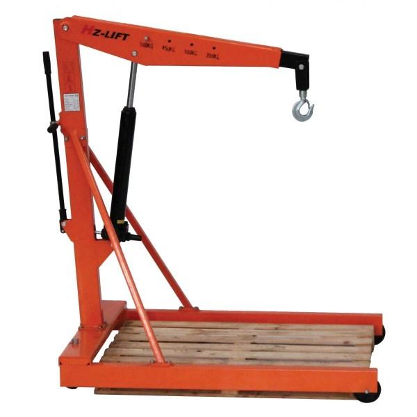 Grue d'atelier manuelle encadrante Poids (Kg) 80 Référence SA 500 Charge admissible (Kg) 350 à 500 Hauteur (mm) 1595 Largeur (mm) 1000