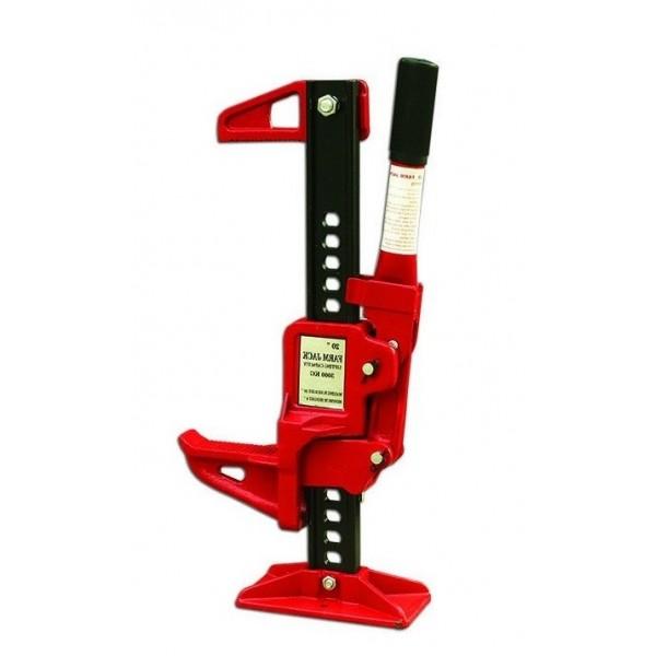 Cric haute levée Référence HBG35A Capacité à hauteur min/max (kg) 2000/3500 Hauteur (mm) 508 Hauteur élévation (mm) 153/320 Poids (Kg) 13