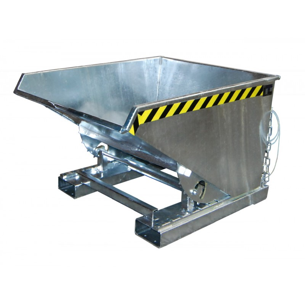 Benne basculante galvanisée Volume (m3 ou L) 0.15 Charge admissible (Kg) 750 Référence EXPO150 GALVA Dimensions (LxlxH) en mm 960*640*540 Poids (Kg) 76