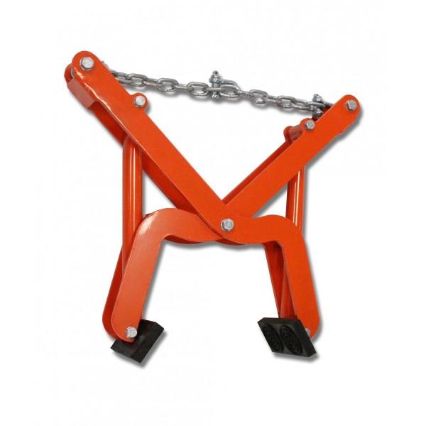 Pince pour bordure Charge admissible (Kg) 150 Référence LH150 Poids (Kg) 13.2 Ouverture maximum (mm) 195