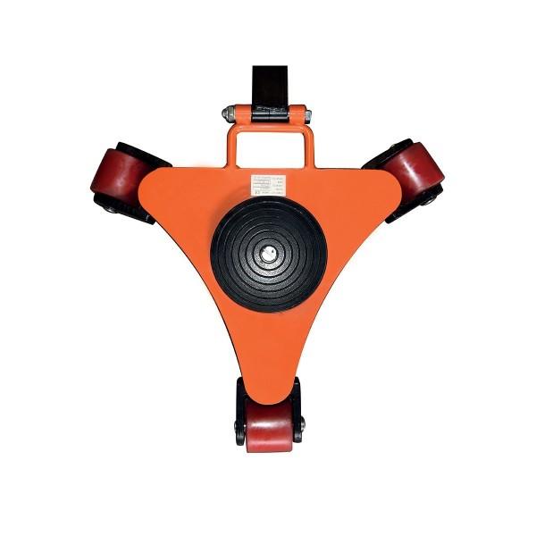Rouleurs pivotants Charge admissible (Kg) 2000 Référence RS2P Type de roues 3 galets Largeur (mm) 400 Poids (Kg) 23 Diamètre des roues (mm) 80