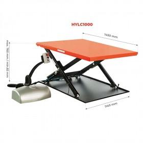 Table élévatrice extra plate électrique