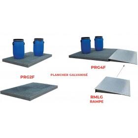 Plancher de rétention acier galva