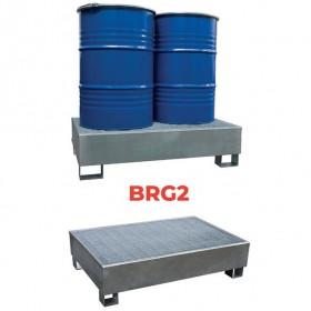 Bac de rétention galvanisé BRG