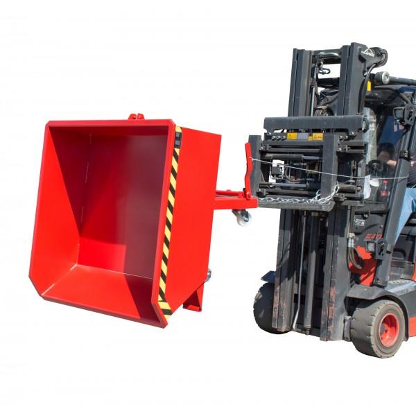 Benne hauteur réduite basculante Charge admissible (Kg) 750 Poids (Kg) 84 Référence MGU 230 Volume (m3 ou L) 0.23 Dimensions (LxlxH) en mm 1385x680x450