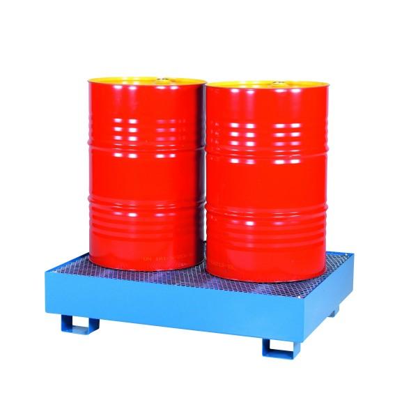 Bac de rétention simple Nombre de fûts 1 Référence RET-20010 Poids (Kg) 45 Volume (m3 ou L) 210 Dimensions (LxlxH) en mm 950*950*325